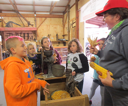 Children in an AG Learning Program