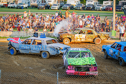 Demolition Derby competition
