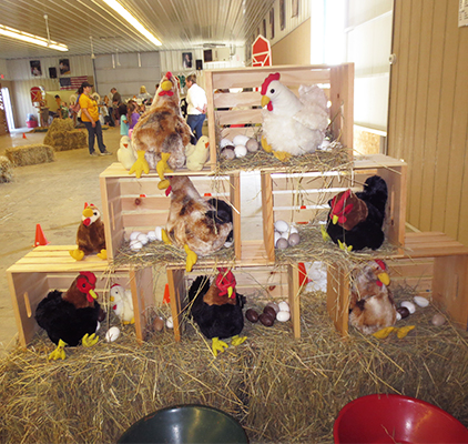 Display at AG Learning Center